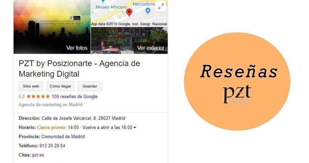 agencia seo -pzt- reseñas google - 02