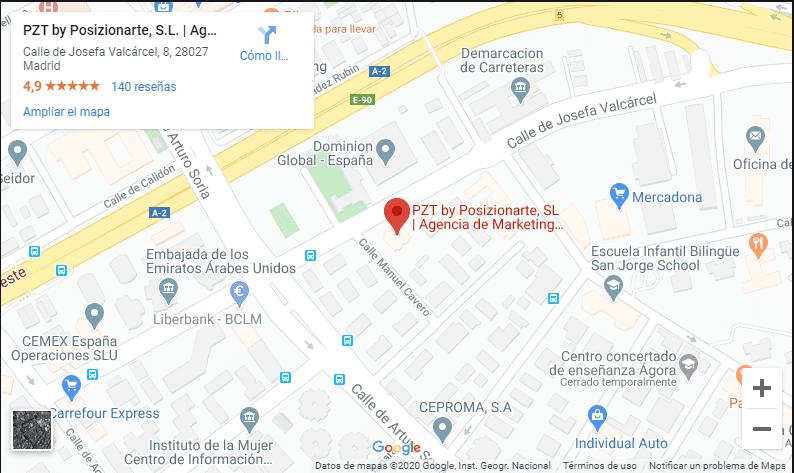 ubicación PZT