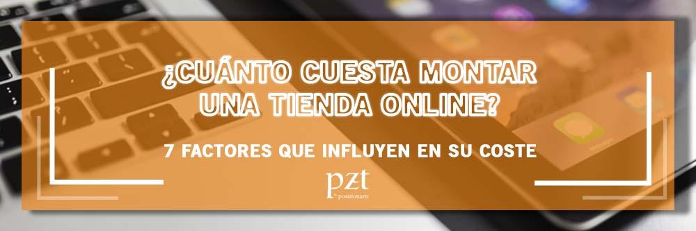 cuanto cuesta una tienda online PZT