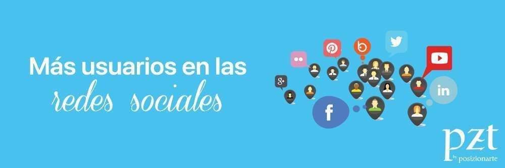 agencia seo - pzt - usuarios redes sociales